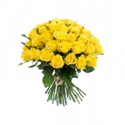 Bouquet banane - rose jaune