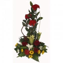 Composition florale Bouliki