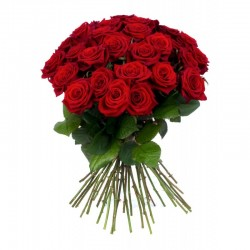 Bouquet Sapotille - rose rouge