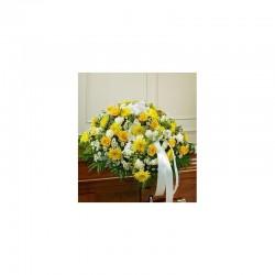 Dessus Cercueils - fleurs...