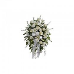 Gerbe allongée - fleurs deuil