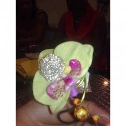 Bague Florale - fleurs mariage