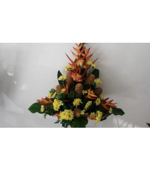 Composition fleurs...