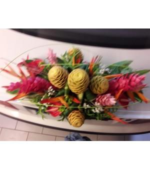 Bouquet allongée