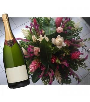 Bouquet Chou Créole +...